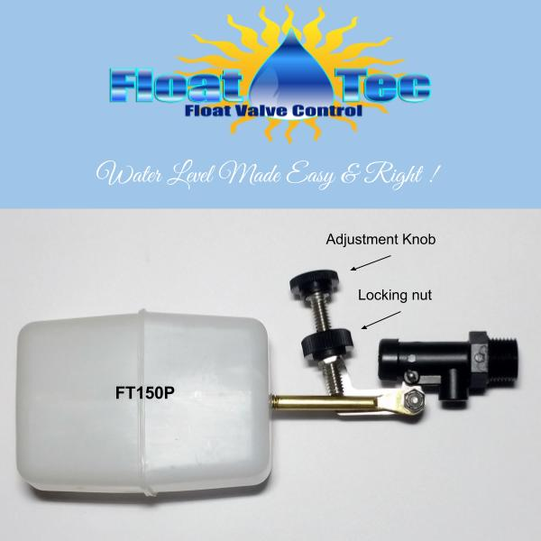 Ft150p Ez Adjust Abs Plastic Float Valve Assembly Float Tec